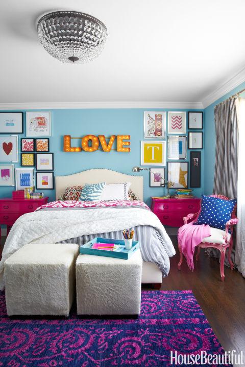 استفاده از تنوع رنگ در اتاق کودکان
