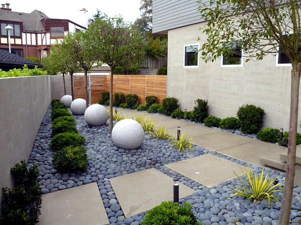 ایده ای برای سنگ کف حیاط