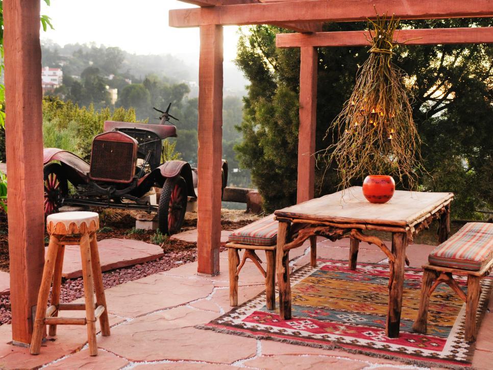 سنگ مناسب برای کف حیاط - سنگ کف باغ