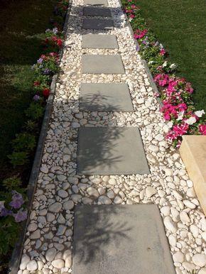 انواع سنگ کف حیاط - سنگ فرش کف باغ