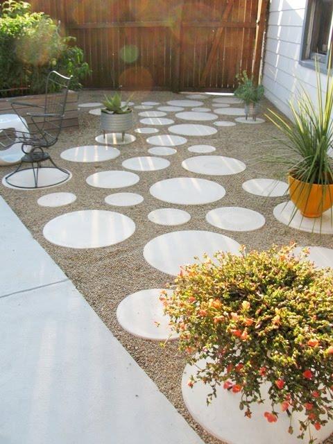 انواع سنگ کف حیاط - مدل سنگ فرش كف