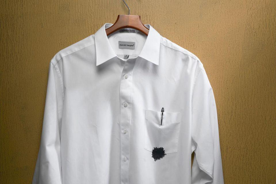 نحوه پاک کردن جوهر خودکار از روی لباس
