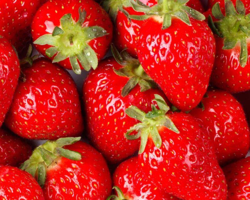 نحوه صحیح شستن توت فرنگی - روش شستن توت فرنگي